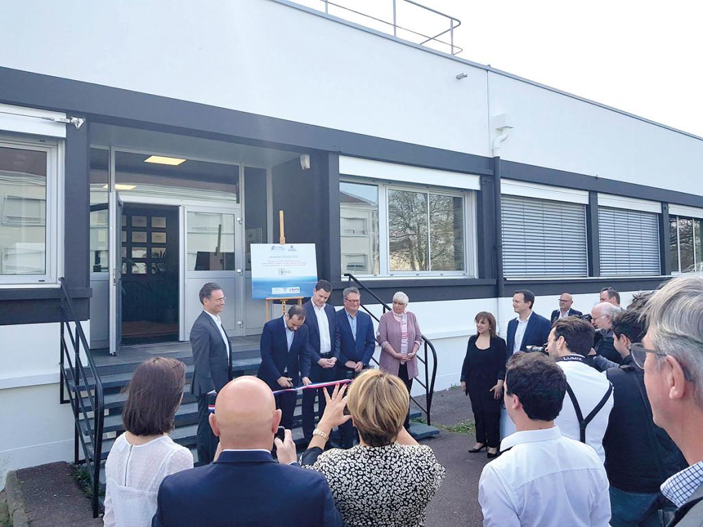 L'inauguration de Kpsul, l'incubateur de start-up créé en partenariat avec la Chambre de Commerce et d'Industrie Portes de Normandie, permet d'attirer les talents de demain sur le Campus de l'Espace.