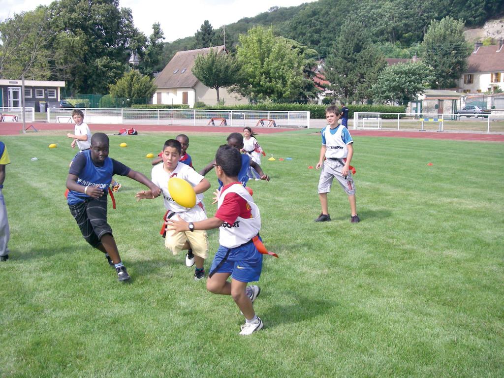 Les nombreuses infrastructures de Vernon permettent aux enfants de pratiquer une très grande variété de sports.