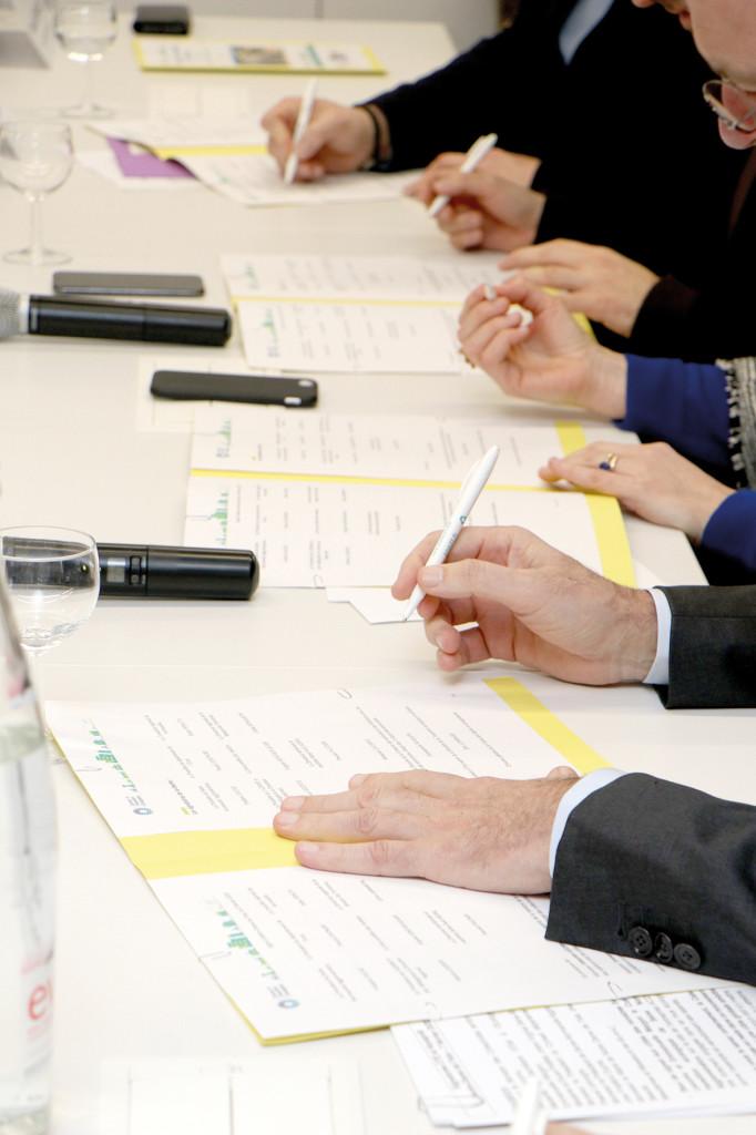 DÉVELOPPEMENT DURABLE Signature du Contrat de Transition Ecologique