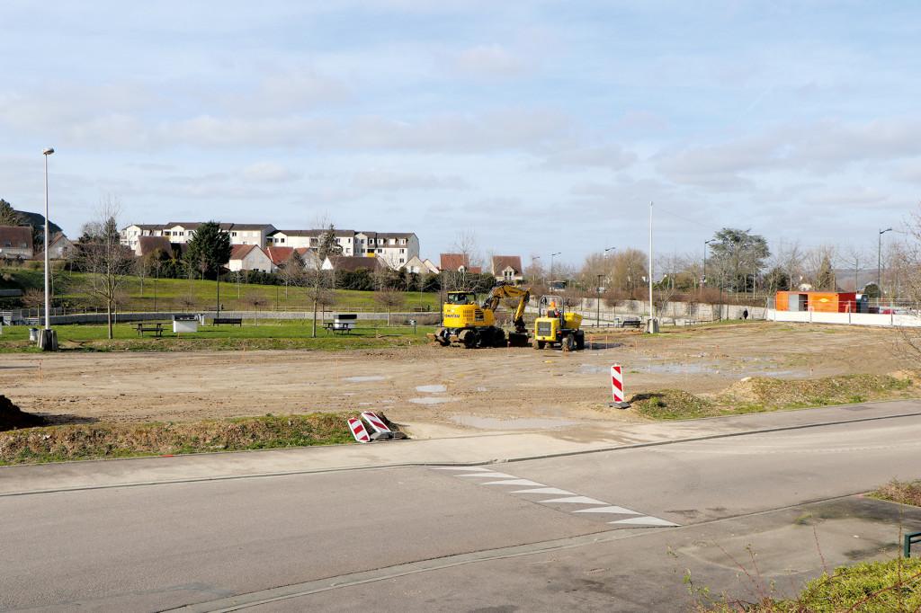 Quartier des Boutardes Un parking et une aire de jeu au Vallon Saint-Michel