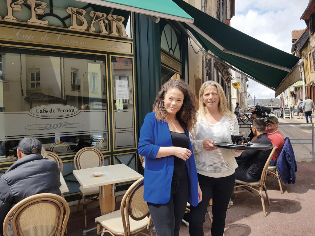 Photo En ville p15 café de Vernon