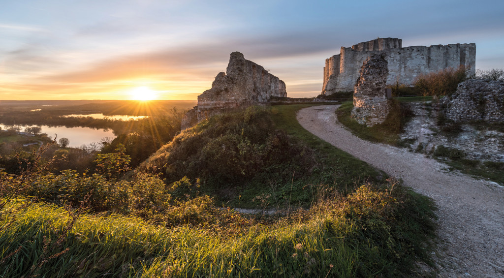 Chateau gaillard nouvelle normandie tourisme vernon les andelys