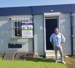 Grâce au nouveau club-house, la vie sociale du club, si importante au rugby, va reprendre.
