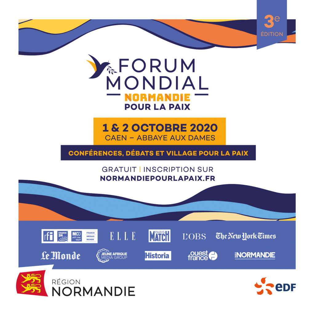 forum mondial pour la paix normandie 2020