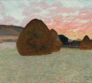 John Breck (1859-1899), Etudes d'un jour d'automne (1891).