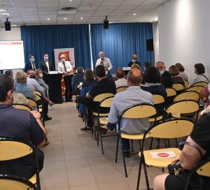 Région Normandie Réunion publique SNCF Vernon 10.09.2020