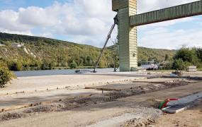 Nouvelle photo berges de Seine Place du Silo Aménagement Amont