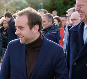 Sébastien Lecornu avait remporté la mairie de Vernon en 2014.