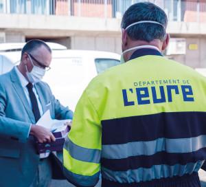 Département de l_Eure CD27 Continuité des Missions Reconfinement