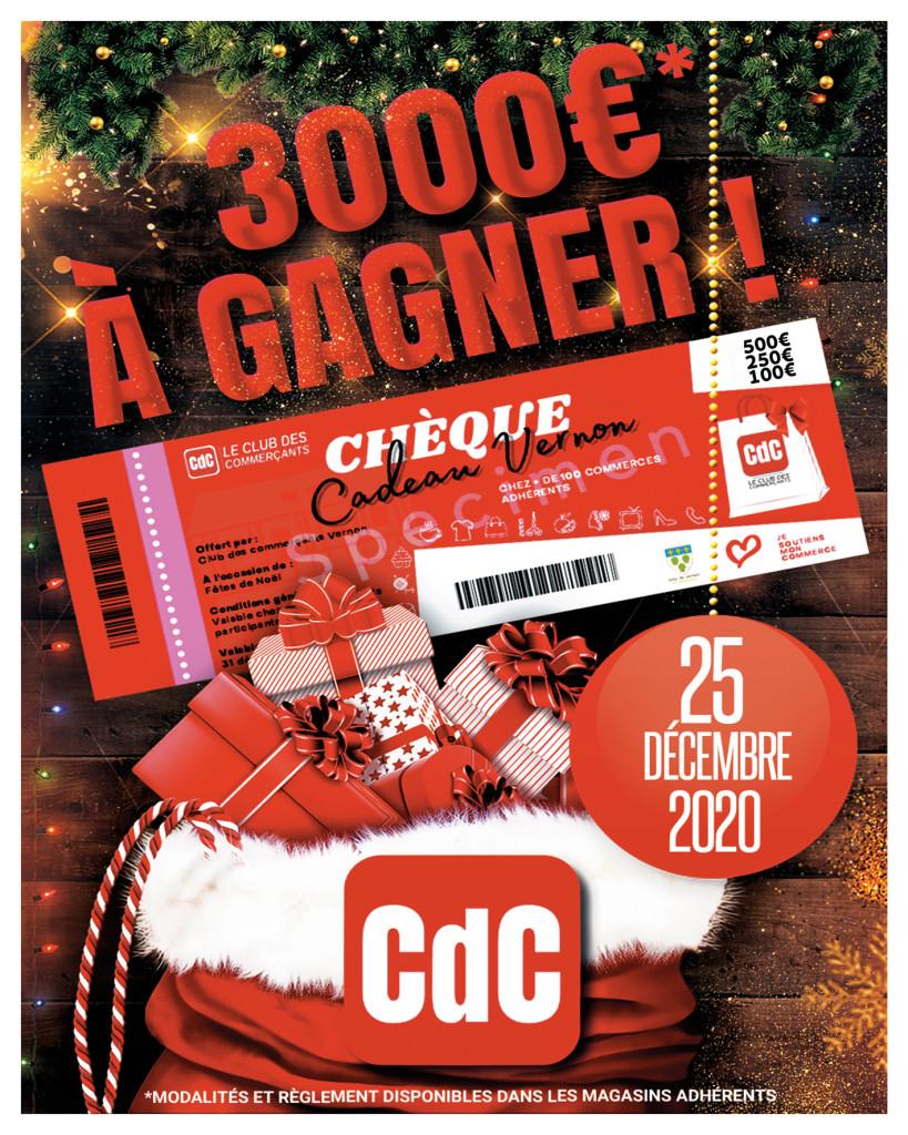 Actualités Club des Commerçants CDC Grand jeu de Noel
