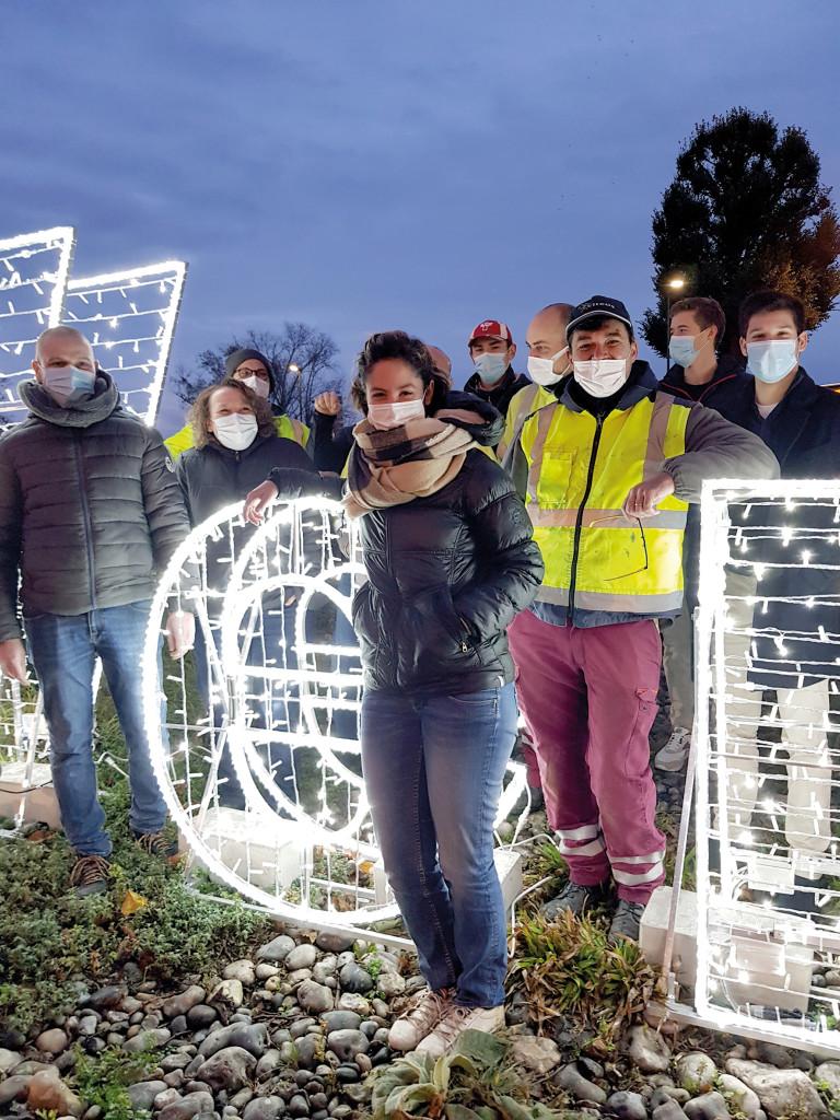 La Rencontre Fleur Cauchois Citeos Illuminations de Noël