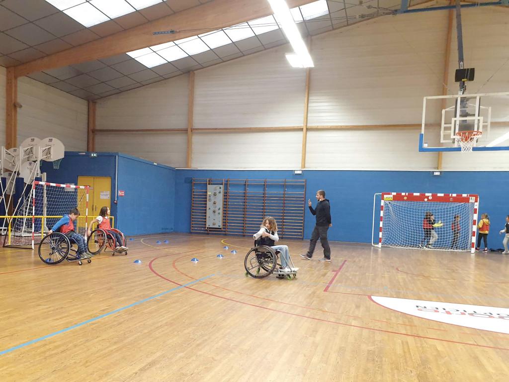 Sports Handisports Handball Handfauteuil Handicap Norm_handi SMV