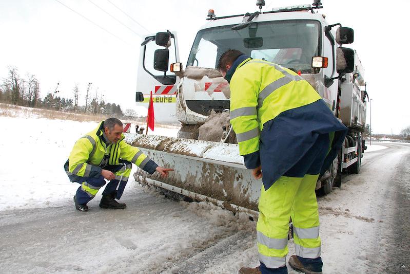 Département de l_Eure Plan Hivernal Routes Déneigement Salage