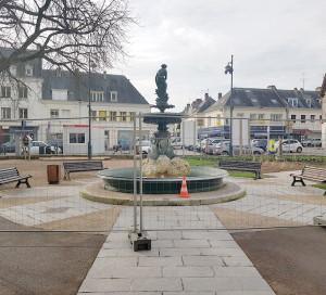 Infotravaux Fontaine Place Barette