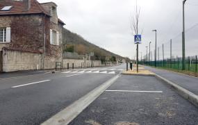 Infotravaux RD5 Route de Giverny Requalification Entrée de Ville Chantier 2e tranche