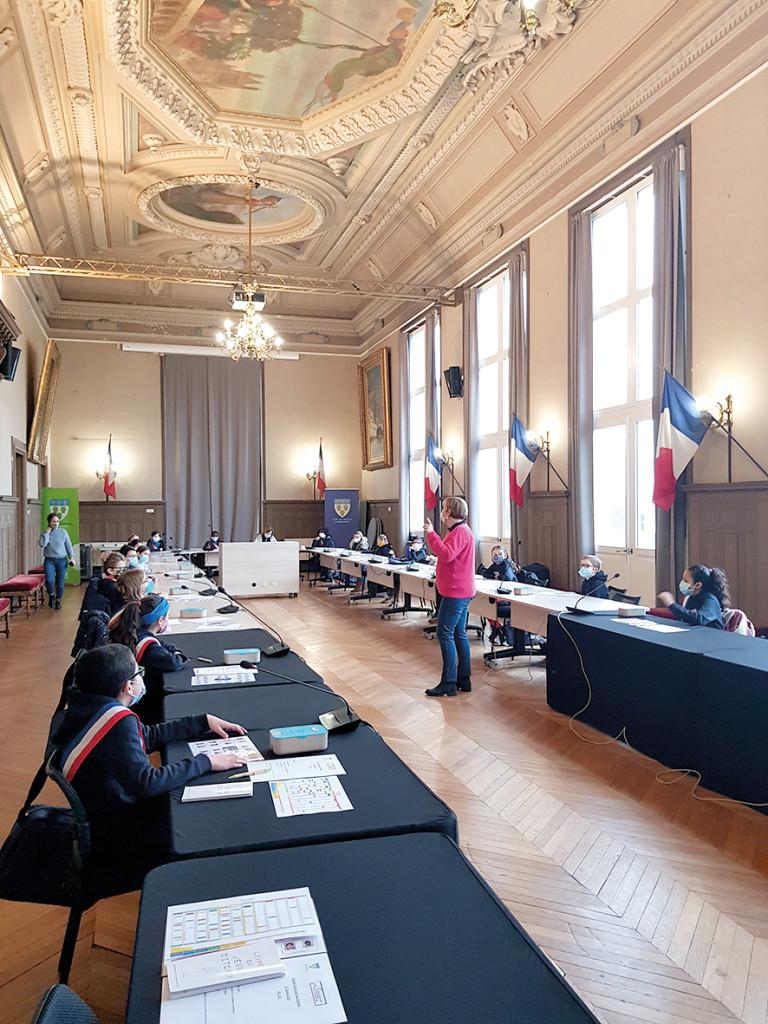 Démocratie Participative Conseil Municipal des Enfants CME Premier Conseil