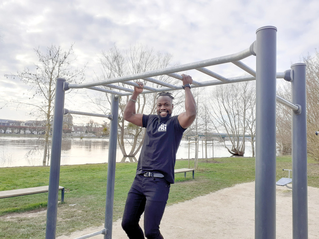 Sports Ibrahima Ba Candidat Ninja Warrior TF1 Parkour Acrobatie