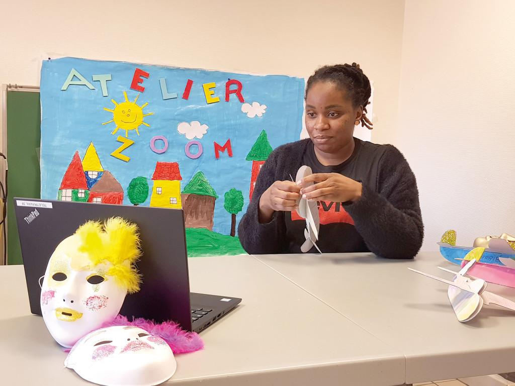 Billet centres sociaux ateliers parents enfants visioconférence zoom Pénitents