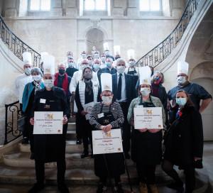 Région Normandie Trophée des Léopards Concours de Cuisine 2021 Granville Terroir Gastronomie