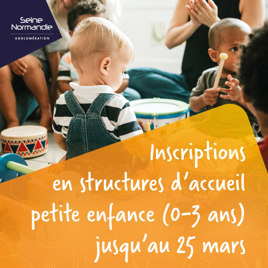 SNA Seine Normandie Agglomération Inscription Mode de Garde Crèches Enfants Jeunes