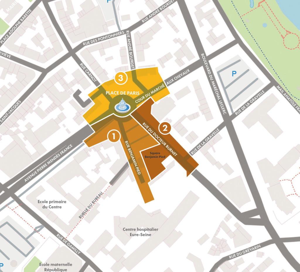 plan coeur de ville