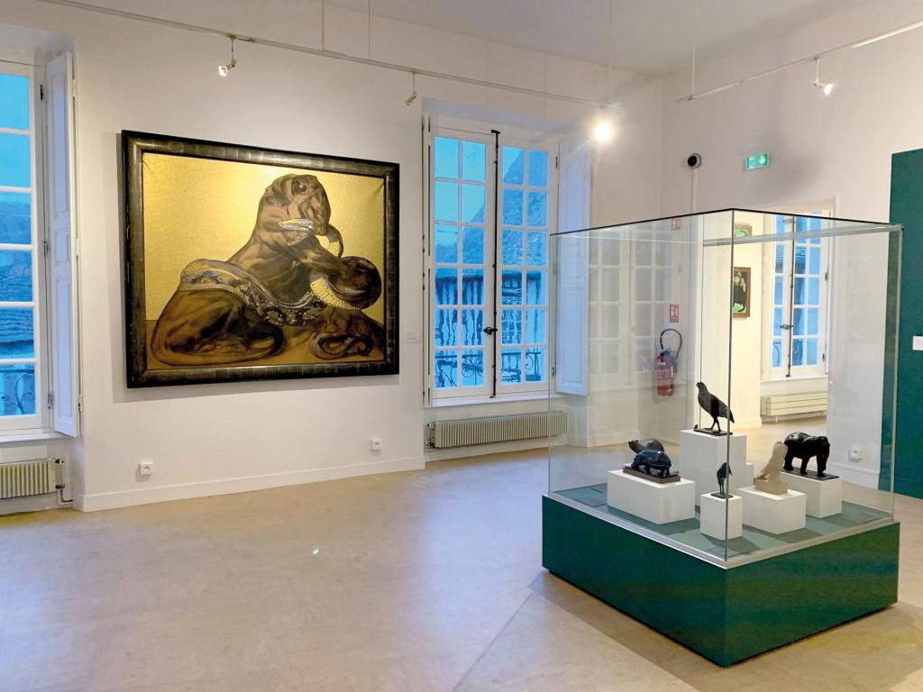 Culture musée de Vernon Plan de Sauvegarde des Oeuvres Incendie SDIS