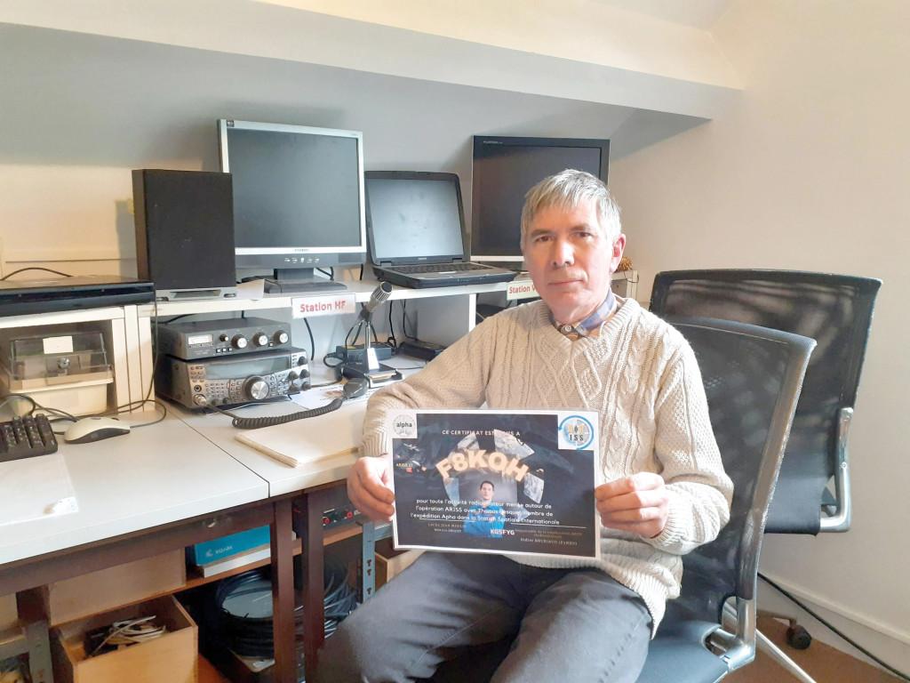 Associations Radio Club de Vernon Contact Thomas Pesquet ARISS ISS Radio-Amateur Espace