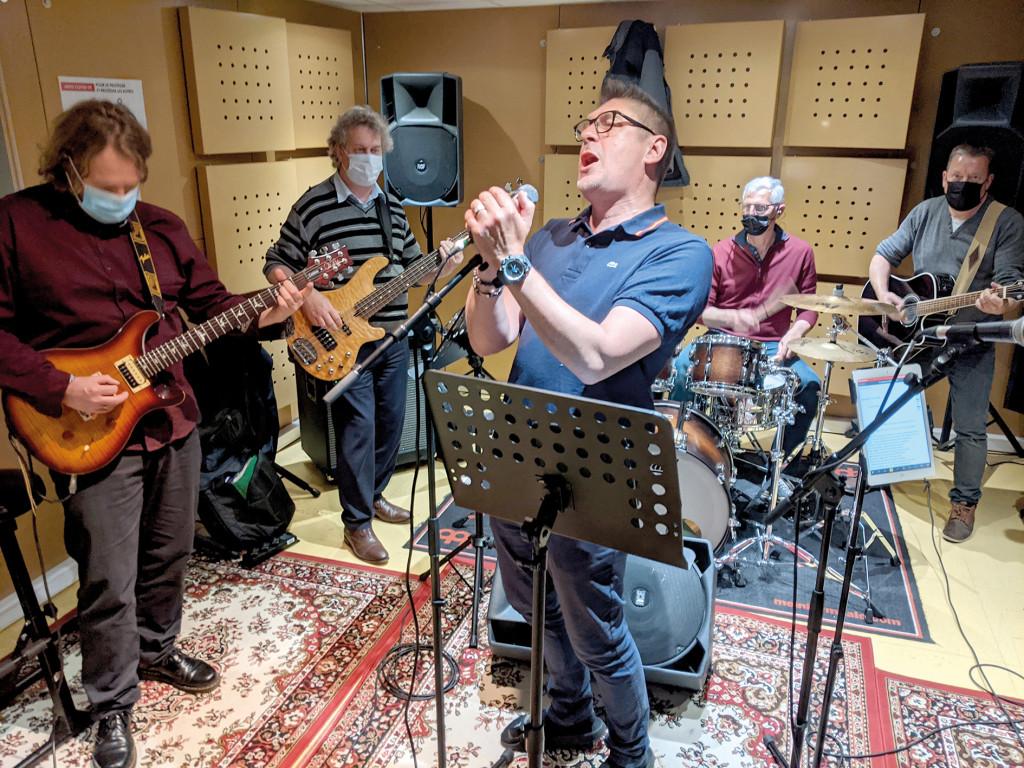 Culture Réouverture Studio de Vernon Musique Enregistrement Répétitions Les Potos