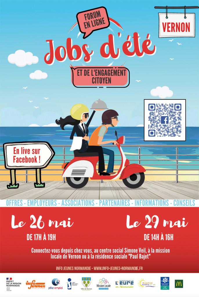 Forum Jobs d_Ete Jeunes Espace Simone Veil Jeunesse et vie Mission Locale Emploi