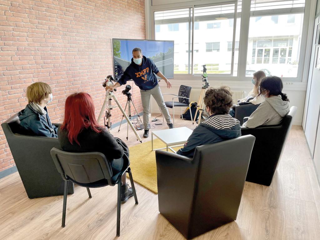 Gaël Musquet Campus de l_Espace Animations Collégiens Education Jeunesse