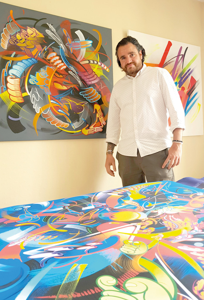 La Rencontre RIME Street Artiste Américain New York NYC Art Culture