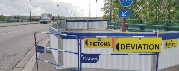 Infotravaux Pont Clemenceau Chantier eau potable