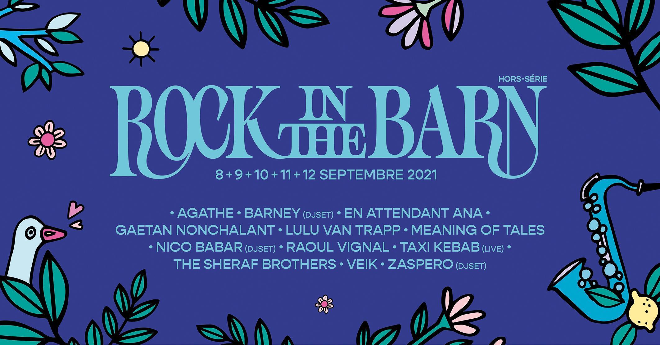 Culture Rock in the Barn 2021 Hors-Série Festival Musique