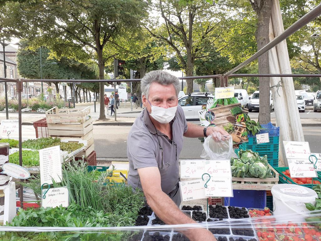 Le Choix de la Rédac Marché EARL des Sables Raynald Lemarchand Maraîcher Légumes