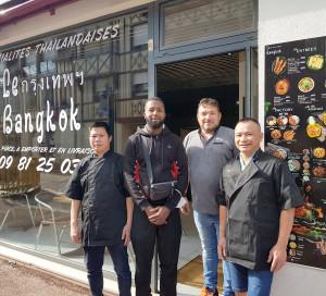 Ouverture Restaurant Thaïlandais Le Bangkok Rue Sainte-Geneviève Commerces