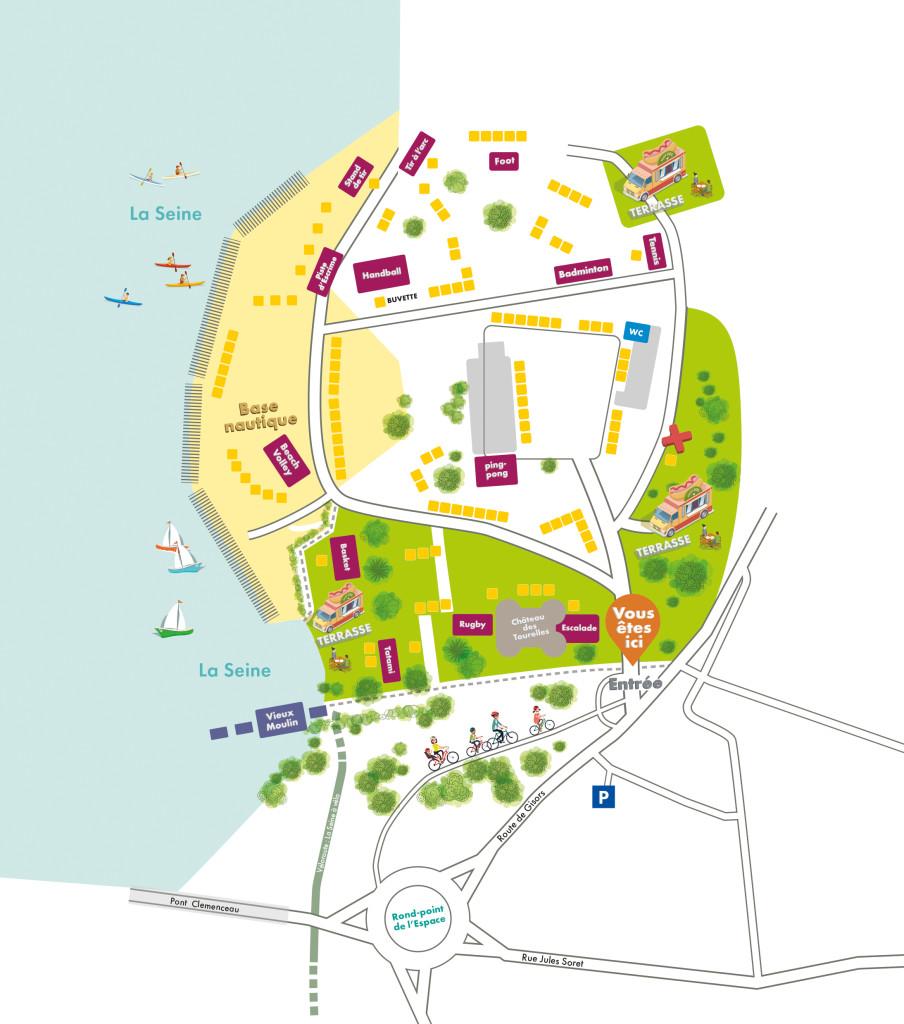 plan village des assos 2021