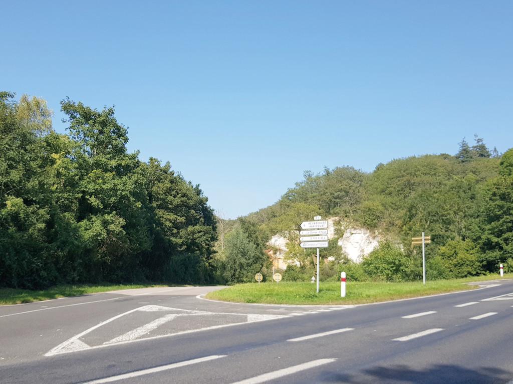 Article Département de l_Eure Travaux Carrefour D313 VC1 Vernonnet Gasny