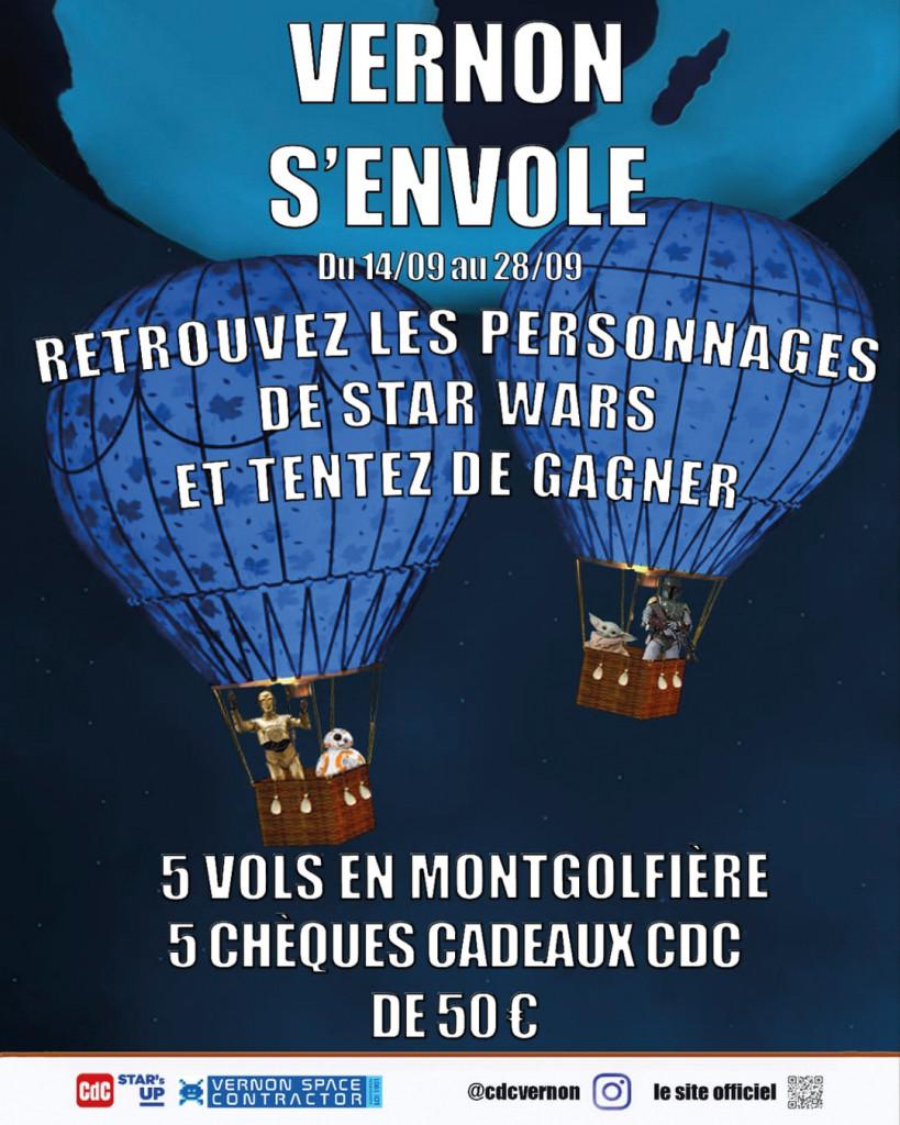 Colonne Actus du CDC Nouveau Jeu Vernon S_envole Festival Star_s UP Espace