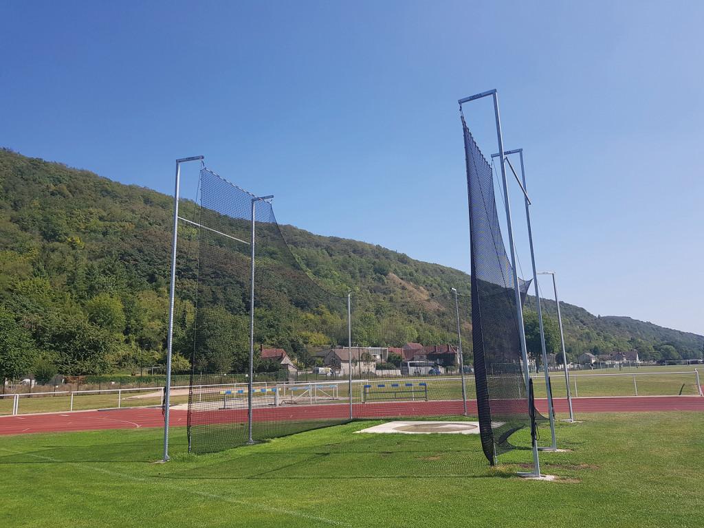 Sports Nouvelle Aire de lancer de Disque Stade de Vernonnet SNA SPN athlétisme