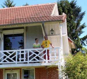 Bertrand et Danièle souhaitent redonner l'esprit Bonnard à cette maison transformée par les anciens propriétaires.