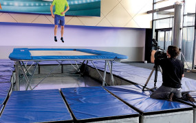 Gymnastique Christopher Lenoury, un acrobate vernonnais en prime-time