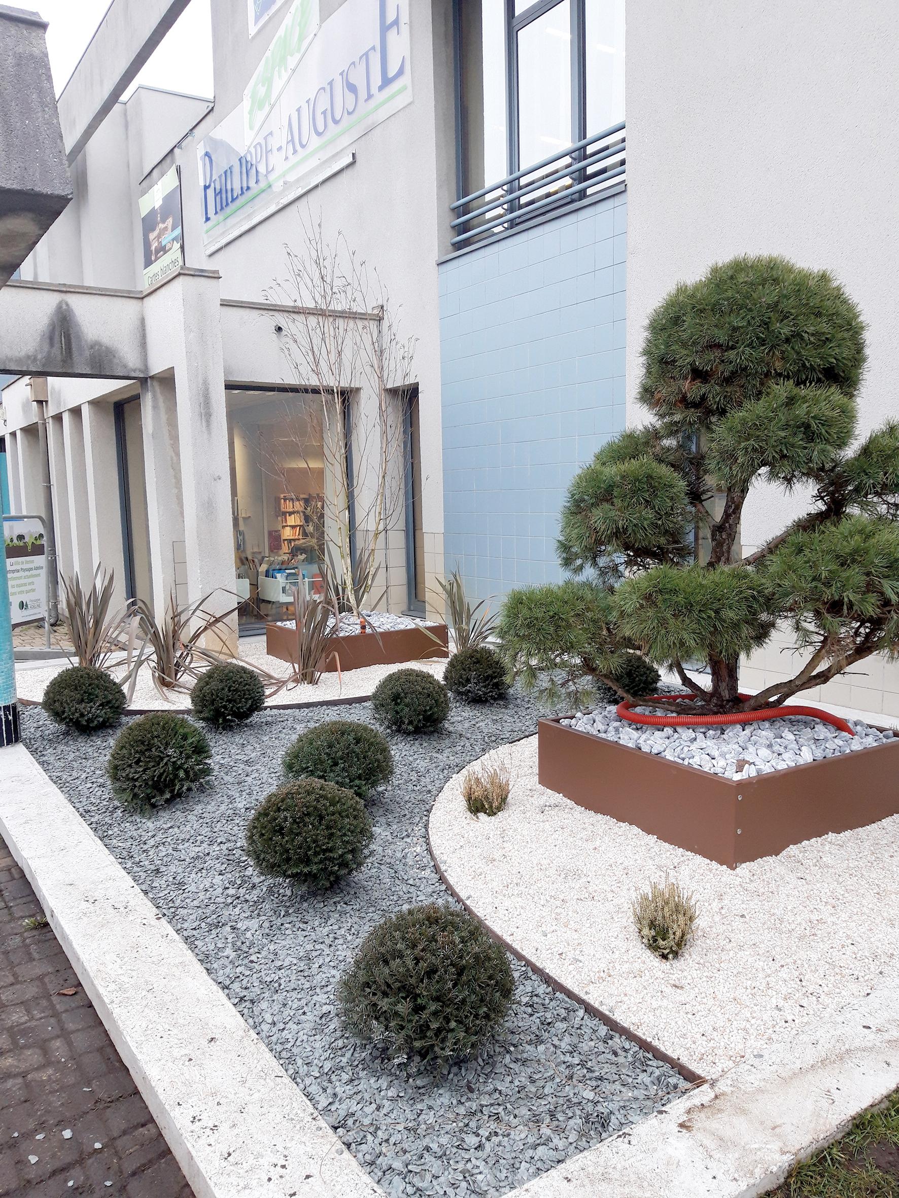 Bassin De Jardin Design Zen vernon direct | un jardin zen à l'entrée de l'epa