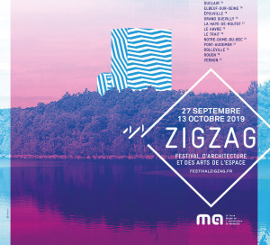 Du 27 septembre au 13 octobre, Vernon est la porte d'entrée de Zigzag, festival d'architecture et des arts de l'espace se déroulant le long de la Seine jusqu'au Havre. Zigzag invite à découvrir les transformations de ce territoire via 30 évènements. A Vernon, 3manifestations sont prévues grâce à l'agence vernonnaise d'architectes MWAH et à La Manufacture des Capucins :