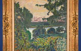 Pierre Bonnard, La Seine ? Vernon, 81,3x68,7 cm, Mus?e des Impressionismes