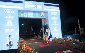 Triathlon longue distance Sophie Sauvain : une dame de fer !