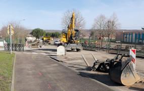 Rue de la Poterie Des aménagements de sécurité devant les écoles