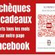 Le Club des Commerçants Des chèques et des cadeaux offerts tous les mois sur notre page Facebook !