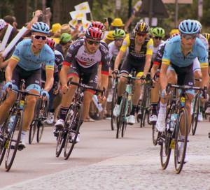 En 2018, le Tour de de France passait à Vernon pour la seconde fois de son histoire.
