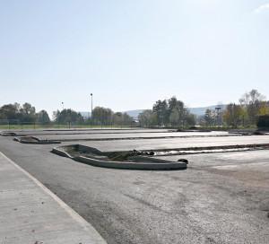 Infotravaux Stade Vernonnet Plaine des Sports Travaux Parking Terrains