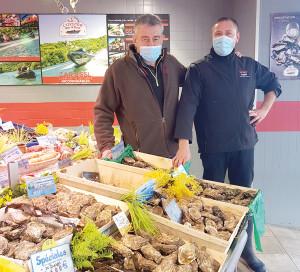Le Choix de la Rédac Poissonnerie Vents et Marées Huîtres Crustacés Noël